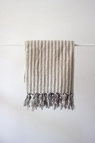 Zebra Gray Turkish Towel