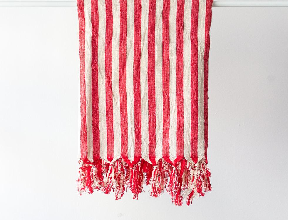 Girit Red Turkish Towel