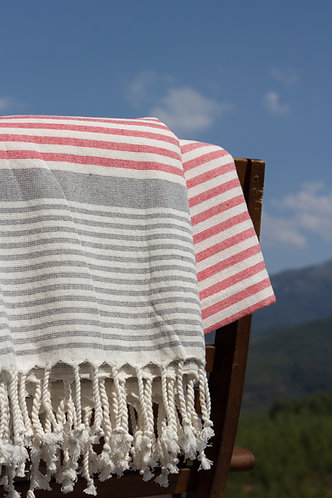 Petit Red Turkish Terry Towels