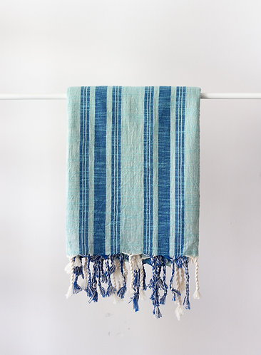 Blue Green Turkish Towels