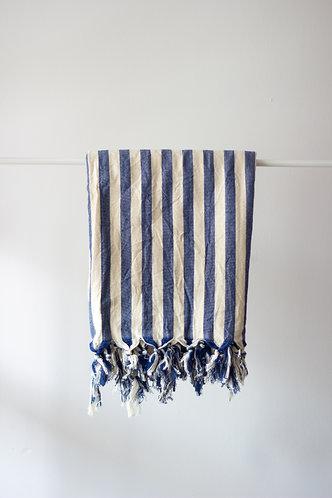 Girit Blue Turkish Towel