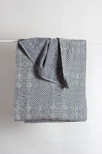 Cihannuma 100% Raw Silk Bed Throws