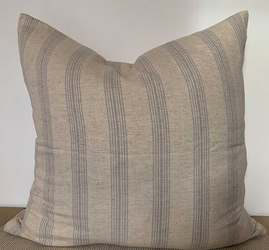 PO #? - Ynez Floor Pillow & Blue Stripe Ojai - DEPOSIT