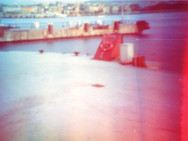 """Arrival"" Konserve kutusu pinhole kamera 35 mm renkli film Tincan pinhole camera 35 mm color film"