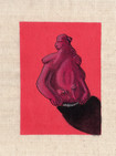 Kibele, 14*17 cm Mixed media on canvas, 2020