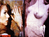 """Fellini"" Once upon a time... age of love Mixed Media, Photo print Karışık teknik, Fotoğraf baskısı, 2014"