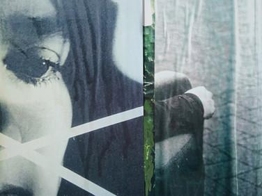 """Connect(ry)ing"" Connection Bricolage, Photo print Bir araya getirme, Fotoğraf baskı, 2019  Exhibited at ""Bağlantılar""  3-24 May 2019  Gündogdu ArtGallery, Adana"