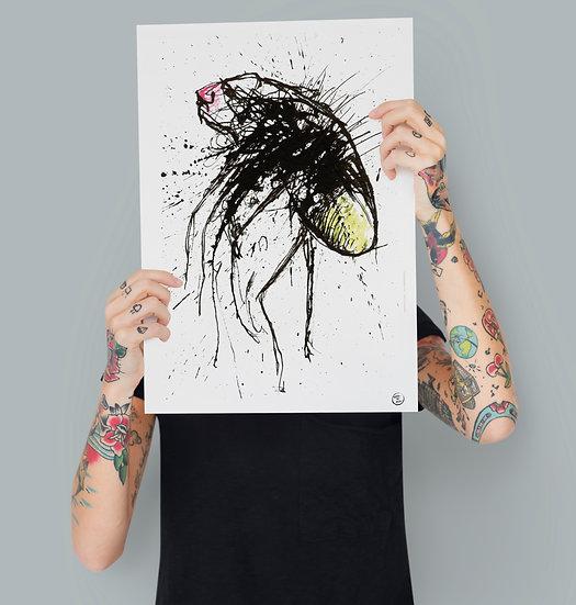 """Firefly"" Print"