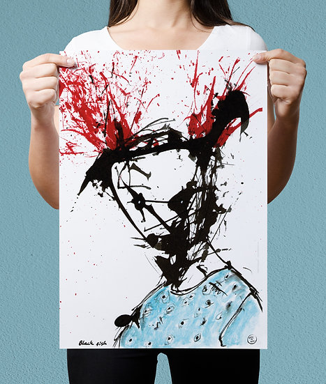 """Black Fish"" Print"