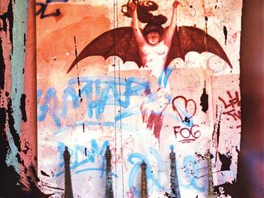 """Bat - Paris"" Homage Found image bricolage Photo Print, 2013"
