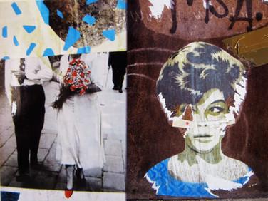 """Old Hang"" Once upon a time... age of love Mixed Media, Photo print Karışık teknik, Fotoğraf baskısı, 2014"