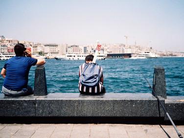 Eminönü İstanbul 2019 35 mm color film, Photo print