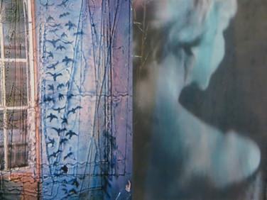 """""""Swallows"""" Once upon a time... age of love Mixed Media, Photo print Karışık teknik, Fotoğraf baskısı, 2014"""