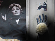 """Edith - Pardon"" Homage Found image bricolage Photo Print, 2013"