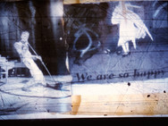 """First Dance - We are so happy"" Once upon a time... age of love Mixed Media, Photo print Karışık teknik, Fotoğraf baskısı, 2014"