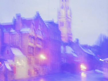 Brugge Belgium 35 mm color film, Photo print