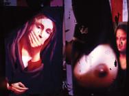 """Shame and Jocand"" Homage Found image bricolage Photo Print, 2013"
