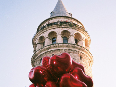 İstanbul, Galata Tower 2019 35 mm color film, Photo print