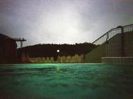 """Pool"" Austria 35 mm color film, Photo print"