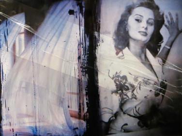 """If we were in Venice"" Once upon a time... age of love Mixed Media, Photo print Karışık teknik, Fotoğraf baskısı, 2014"