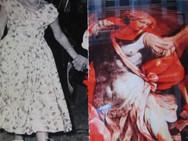 """""""Worrior"""" Hand Messages Found image bricolage Photo Print"""