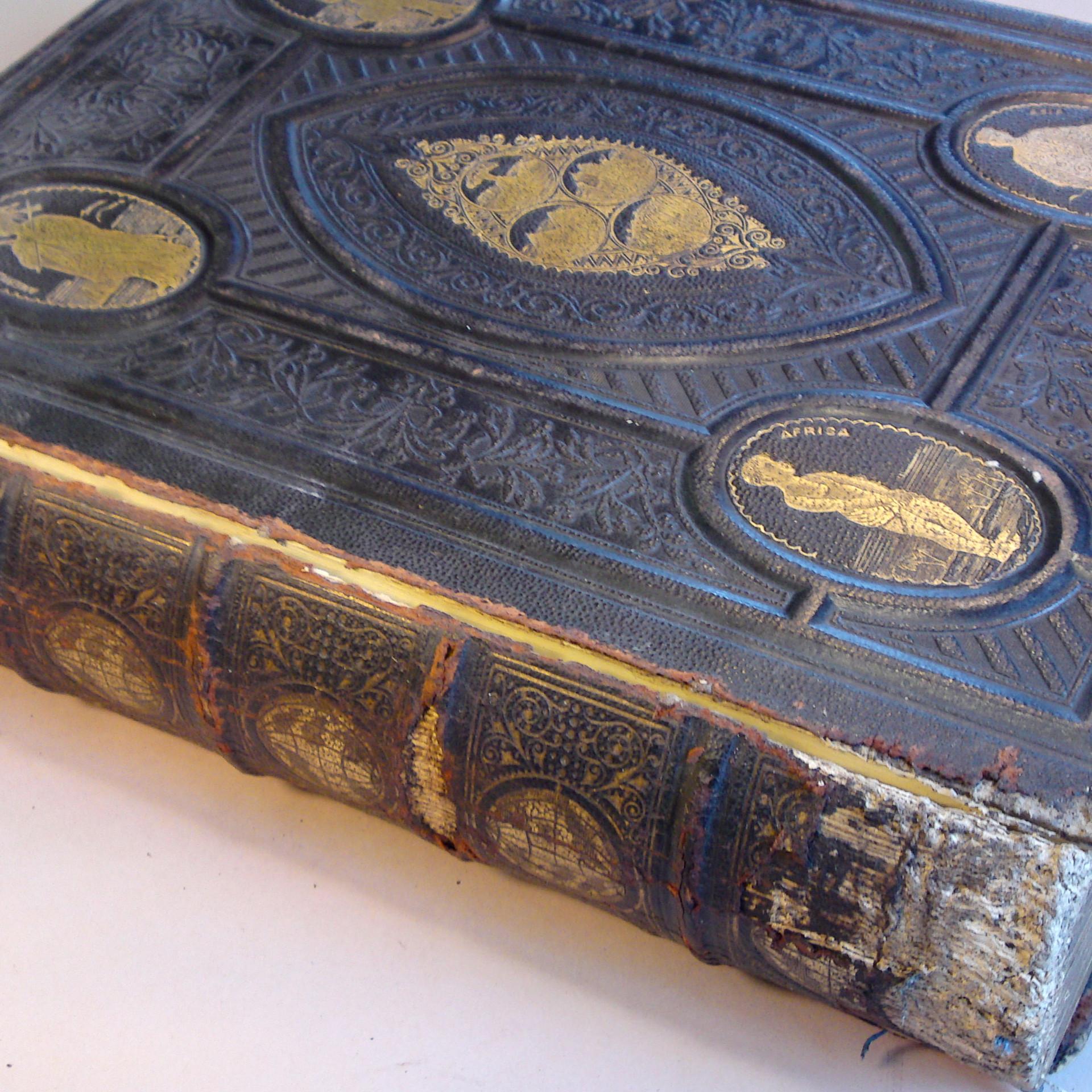 Family Bible Repair 2 - Before