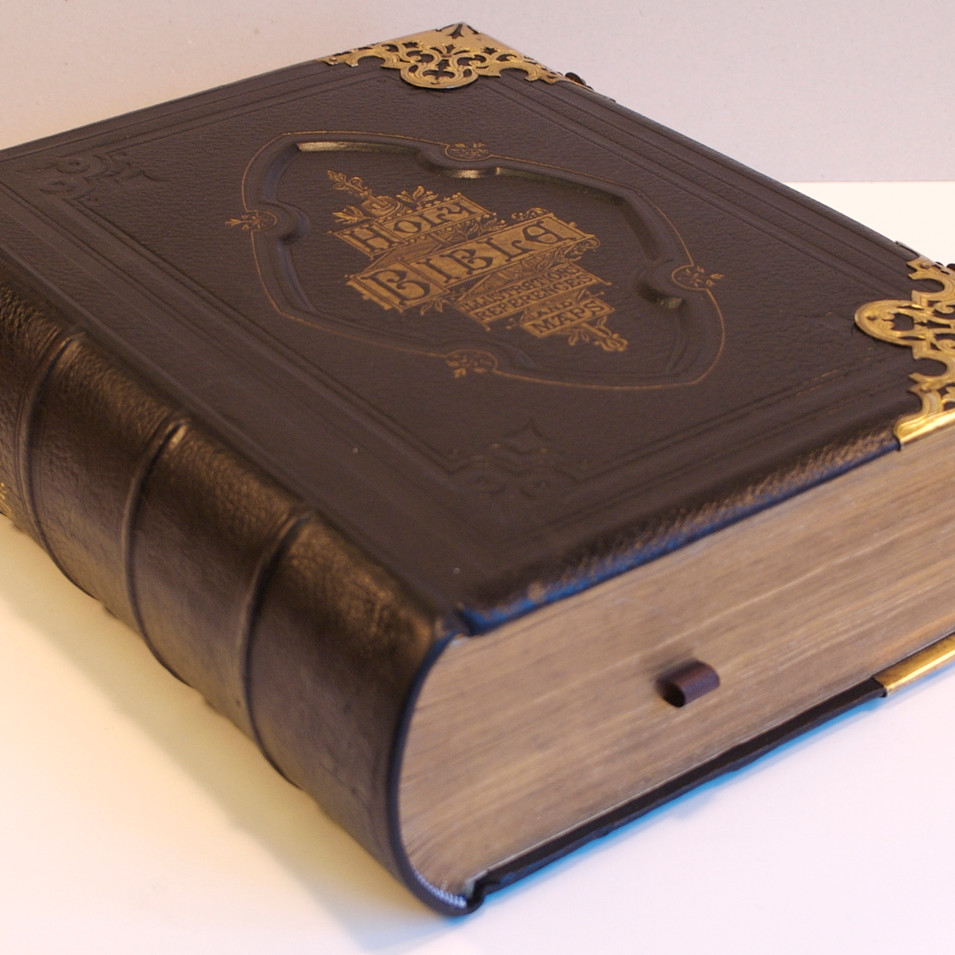 Family  Bible Repair - After