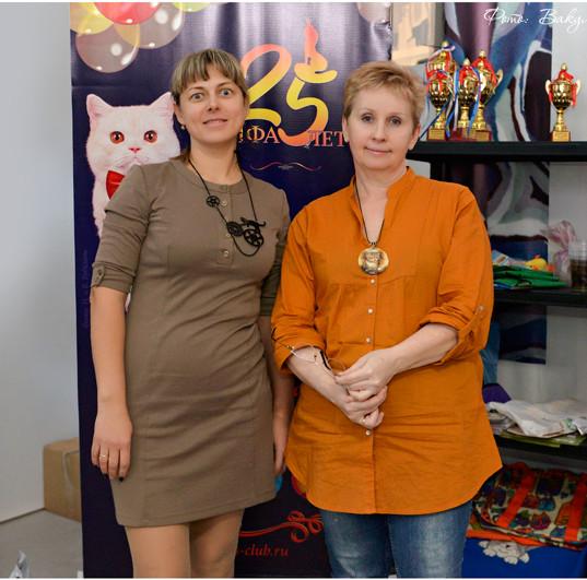 Кикичева Юлия и Уханова Ирина