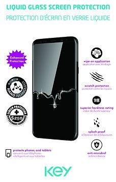 KEY Liquid Glass Screen Protector  envel