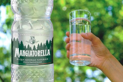 """Acqua Mangiatorella naturale """"Stilo"""" (6 bottiglie 2 l)"""