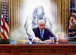 #JesusandTrump