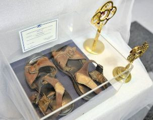 Mother Teresa Sandals (walk a mile if you 'CAN'