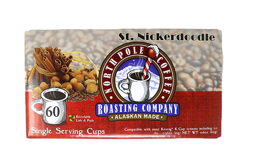 St. Nickerdoodle Single Serve 60ct