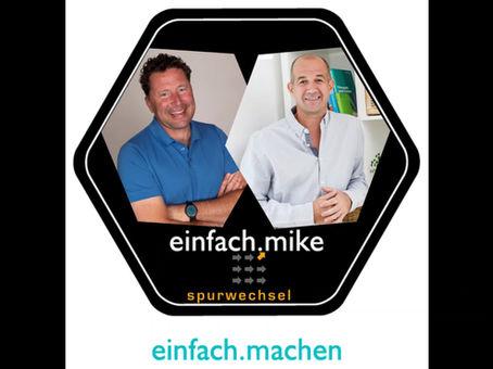 Folge 15 des einfach.machen Podcasts ist online: Martin Penz von spur-wechsel vorm Mike