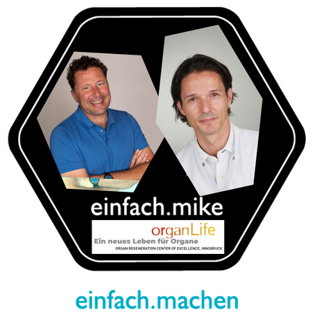Folge 10 des einfach.machen Podcast online: Dr. Stefan Schneeberger vorm Mike!