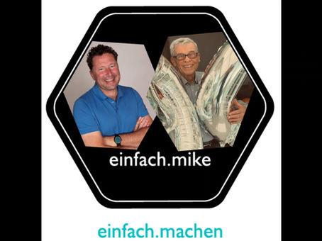 Folge 14 des einfach.machen Podcasts ist online: 90er-Jubilar Hubert Prantl vorm Mike