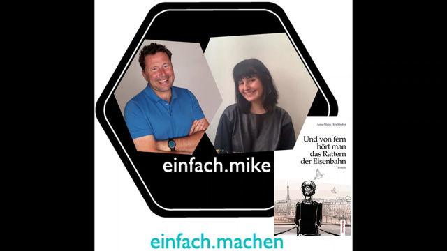 Folge 12 des einfach.machen Podcasts ist Online: die junge Autorin Anna-Maria Hirschhuber vorm Mike