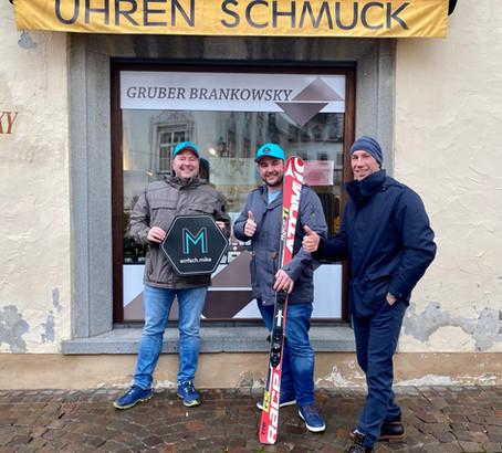 Der nächste Gewinner: Max Arnold! Wir fahren einen Tag mit Weltcup Rennfahrer Christoph Gruber Ski!
