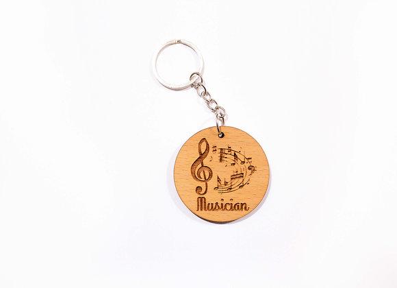 Musician Keychain