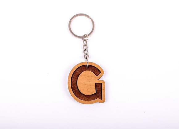 G Letter Keychain