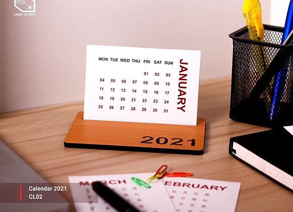 2021 Medium Calendar Flat
