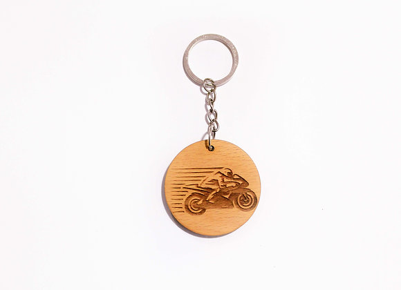 Motorbike Keychain