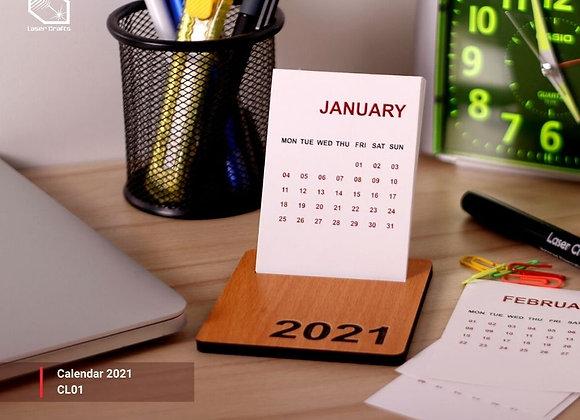 2021 Small Calendar Flat