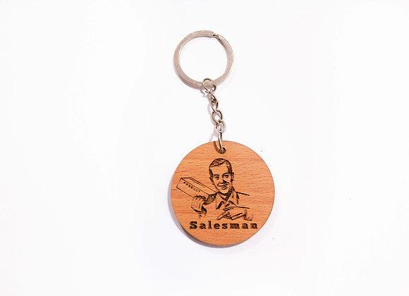 Salesman Keychain