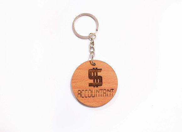 Accountant Keychain
