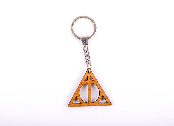 Deathly Hallows Harry Potter Keychain