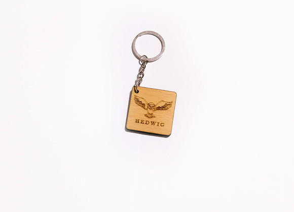 Hedwig Harry Potter Keychain