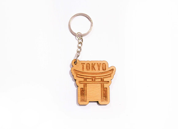 Tokyo Country Keychain