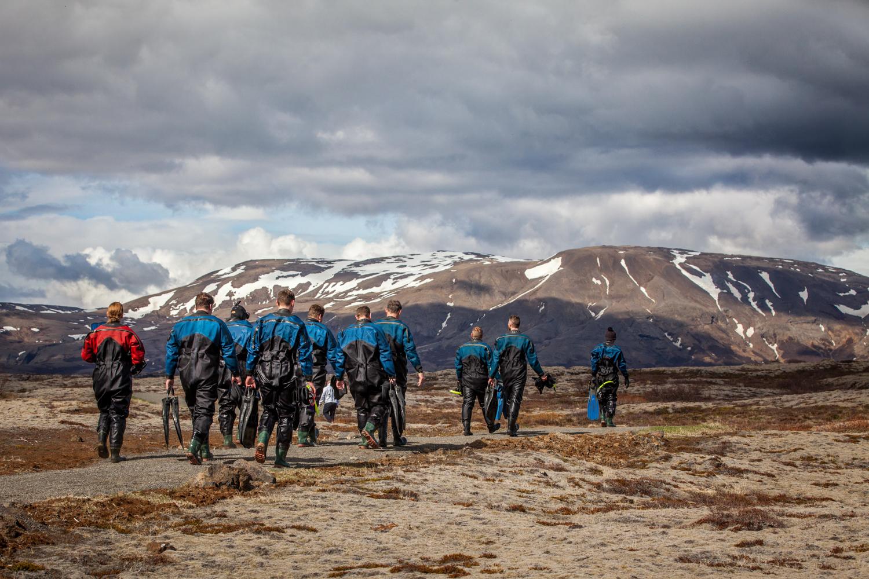 Divers - Skålholt, Iceland - 2015