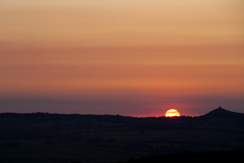 Sunset - Dartmoor, Devon - 2016